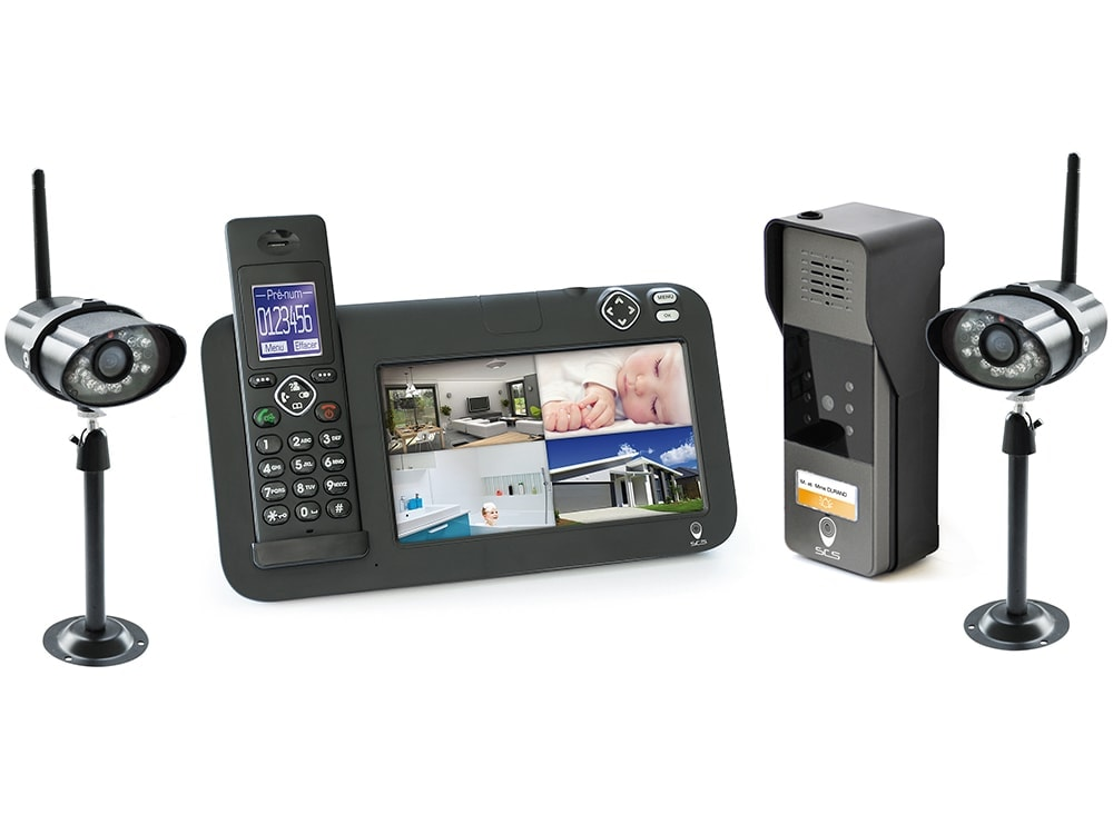 interphone video +cctv +dect