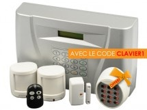 Kit alarme sans fil, AD4TV, AD4TV