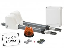 Pack Family Basic Battant, Access 1 safety + 2 télécommandes supp, Access 1 safety + 2 télécommandes supp