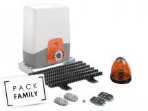 Pack Family Basic coulissant, Access 3 safety + 2 télécommandes supp, Access 3 safety + 2 télécommandes supp