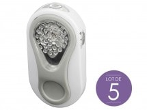 Lot de 5 veilleuses LED, SCS 316 MP W, SCS 316 MP W