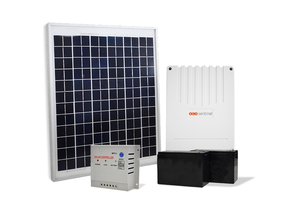 Kit solaire complet, SOLARGATE 20W 12-24V, SOLARGATE 20W