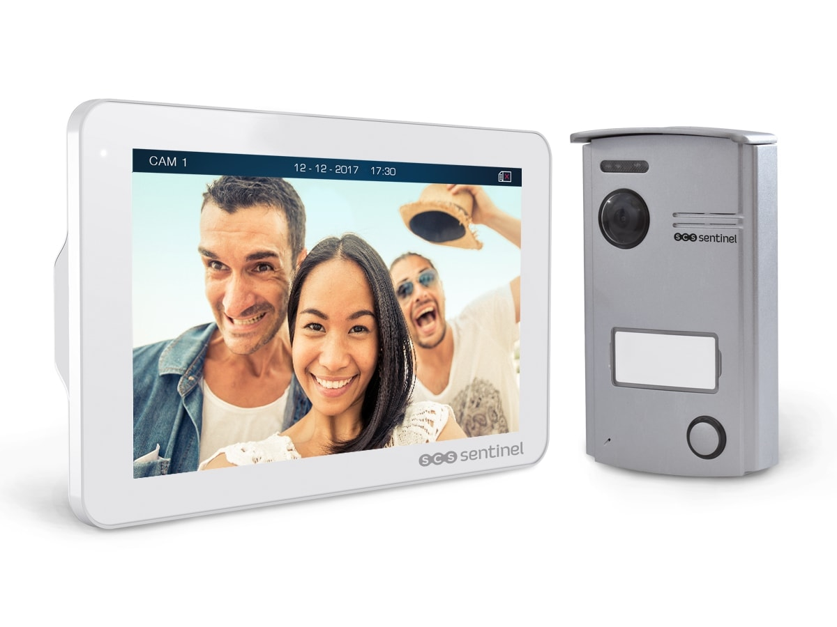 Interphone vidéo mains libres, VisioDoor 7+, VisioDoor 7+