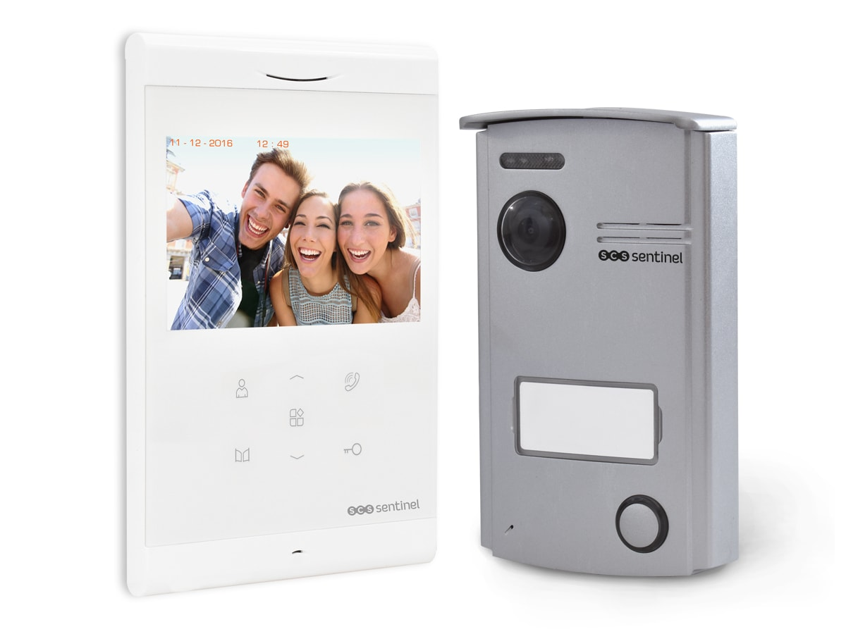 Interphone vidéo mains libres, VisioDoor 4.3, VisioDoor 4.3