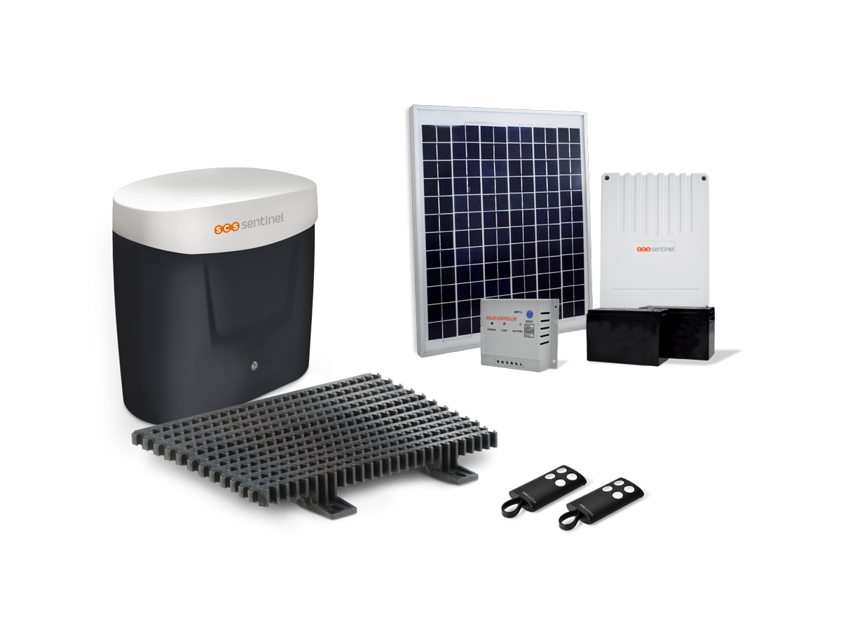 Kit Motorisation Portail Coulissant Solaire Opengate 3 Eco Energy