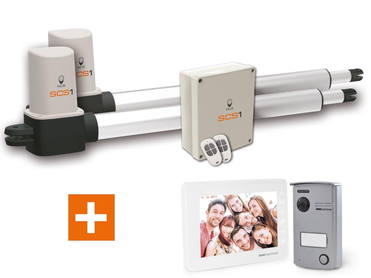 kit motorisation scs 1 interphone scs 1 integral scs sentinel. Black Bedroom Furniture Sets. Home Design Ideas