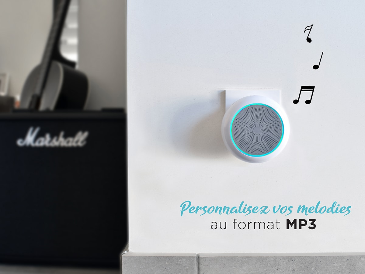 Carillon sans fil enfichable MP3, PlugBell 150 Music, PlugBell 150 Music