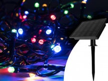 Guirlande lumineuse solaire, GardenLight 100 LED multicolore, GardenLight 100 LED multicolore