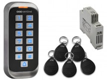 Digicode RFID avec badges et alimentation PSRD, CodeAccess RFID + ALIM PSRD, CodeAccess RFID + ALIM PSRD