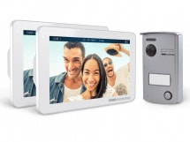 Interphone vidéo VisioDoor 7+, avec 1 moniteur additionnel, VisioDoor 7+ avec 1 moniteur add.